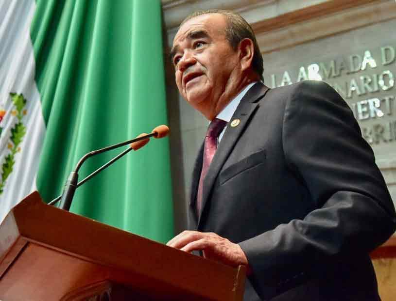 Maurilio Hernández González, coordinador del Grupo Parlamentario de Morena,