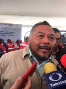 Alfredo Pérez Guzmán, encargado de la Vocalía Ejecutiva de la CAEM