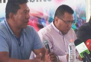Productores de cohetes y el alcalde de Tultepec, Armando Cervantes anuncian que la venta de pirotecnia en el mercado de San Pablito es más segura