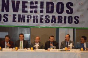 Raciel Pérez Cruz, edil electo de Tlalnepantla y empresarios encabezados por Raúl Chaparro