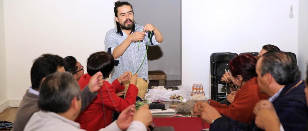 Forma parte este taller de las actividades de la Semana Naranja que organiza la Secretaría de Cultura.