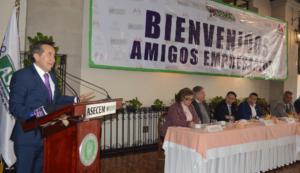 El presidente de ASECEM, Raúl Chaparro exhorta a empresarios a incrementar sus inversiones
