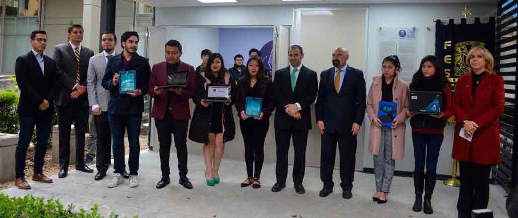 La red Wi Fi,, el módulo de equipos y el Centro de Desarrollo de Aplicaciones fueron inaugurados en la FES Acatlán