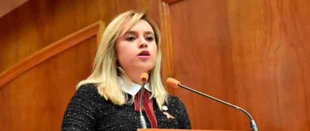 Mariana Uribe Bernal, presidenta de la Comisión legislativa para la Igualdad de Género de la 60 Legislatura,