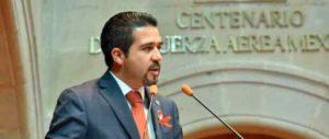 diputado Reneé Alfonso Rodríguez Yánez (PAN), presidente de la Comisión legislativa de Asuntos Internacionales