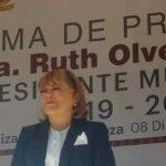 Ruth Olvera Nieto, presidenta electa de Atizapán