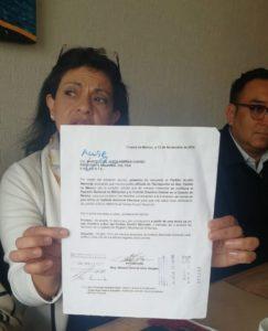 Mónica Ortiz, anuncia el renuncia del PAN estatal
