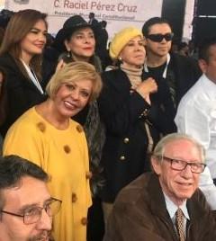 Veronica Gallardo, Maribel Soto, Isaura espinoza, Lilia Aragón y el gringo GEM Robert Alexander
