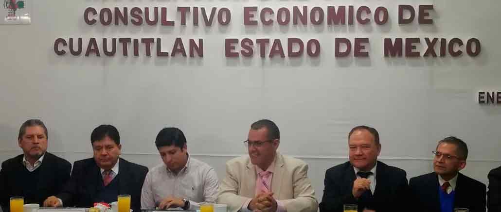 Ariel Juárez, se reúne con empresarios de Cuautitlán y de la ASECEM, que encabeza Raúl Chaparro Romero