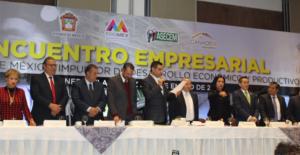 Toman protesta de dirigente de mujeres empresarias del Estado de México