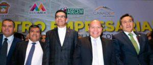 Ariel Juárez, Ricardo Núñez, Enrique Jacob, Raciel Pérez Cruz y Raúl Chaparro