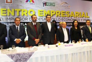 Empresarios y gobiernos estatal y municipales mexiquenses se comprometen a mejorar condiciones para la inversión