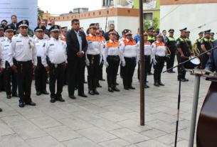 El alcalde de Huixquilucan, Enrique Vargas del Villar anuncia el reforzamiento de la seguridad en el primer semestre del año