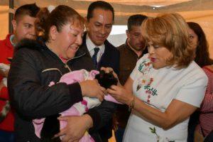 La alcaldesa, Ruth Olvera, inauguró la Primera Jornada de esterilización de mascotas