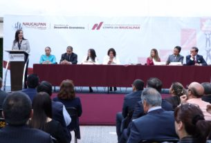La alcaldesa de Naucalpan, Patricia Durán Reveles preside el Consejo Consultivo Económico