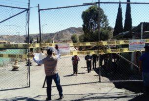 El relleno Sanitario Puerto de Chivos fue clausurado por personal de PROPAEM