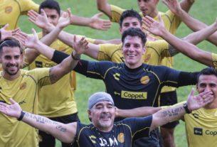 Maradona lleva al equipo Dorados a Octavos de Final del Torneo de Copa