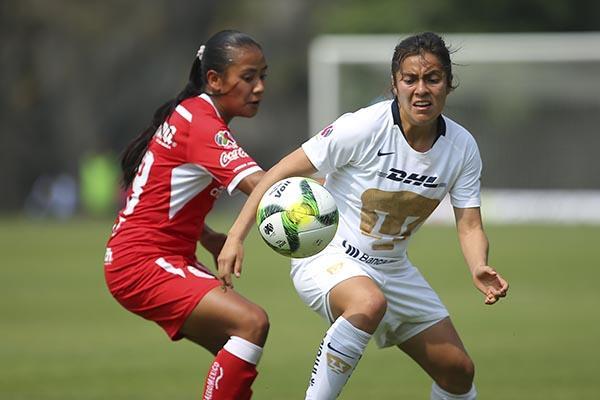 Aunque las Pumas sucumbieron ante el Toluca 1-0, se encuentran en tercer lugar de su grupo