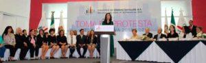 Beatiz Gómez, nueva presidenta de la Asociación de Colonos de Ciudad Satélite, luego de asumir el cargo, señaló que no se les hace justo la carencia de servicios públicos