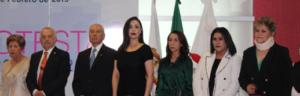 Reina Pedraza, Galo Blanco, Eduardo Lópezm Patricia Durán, Beatriz Gómez, Claudia Oyoque y Maribel Martínez