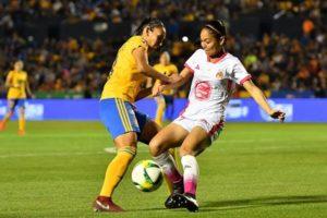 Las Tigras de la UANL golearon 4-0 a Monarcas de Morelia