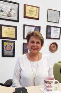Dolores Olivier de Menchaca, directora y coreógrafa del ballet Folclórico del Edomex
