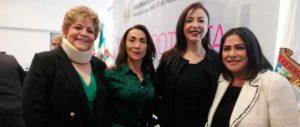 Maribel Martínez, Beatriz Gómez, Patricia Durán y Claudia Oyoque