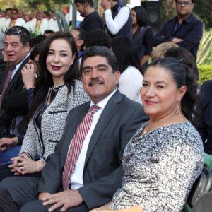 Patricia Durán, Manuel Espino y  Socorro Ibarra