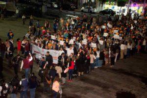 Cientos de hombres participaron en marcha Nosotros por Ellas