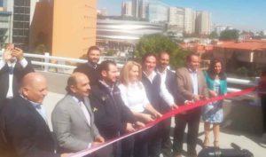 Autoridades estatales, municipales y empresarios inauguraron distribuidor vial Glorieta de los Ángeles