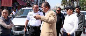 El alcalde Ariel Juárez, encabezó el Operativo Recuperación de Vialidades