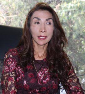 Beatriz Gómez, dirigente de colonos de Satélite