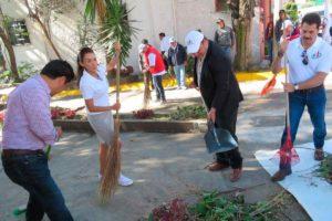 Carlos Trujillo, Beatriz Gómez, Tomás Palomares, Ricardo Fuertes y Eduardo Soto, encabezaron limpieza en Circuito Actores