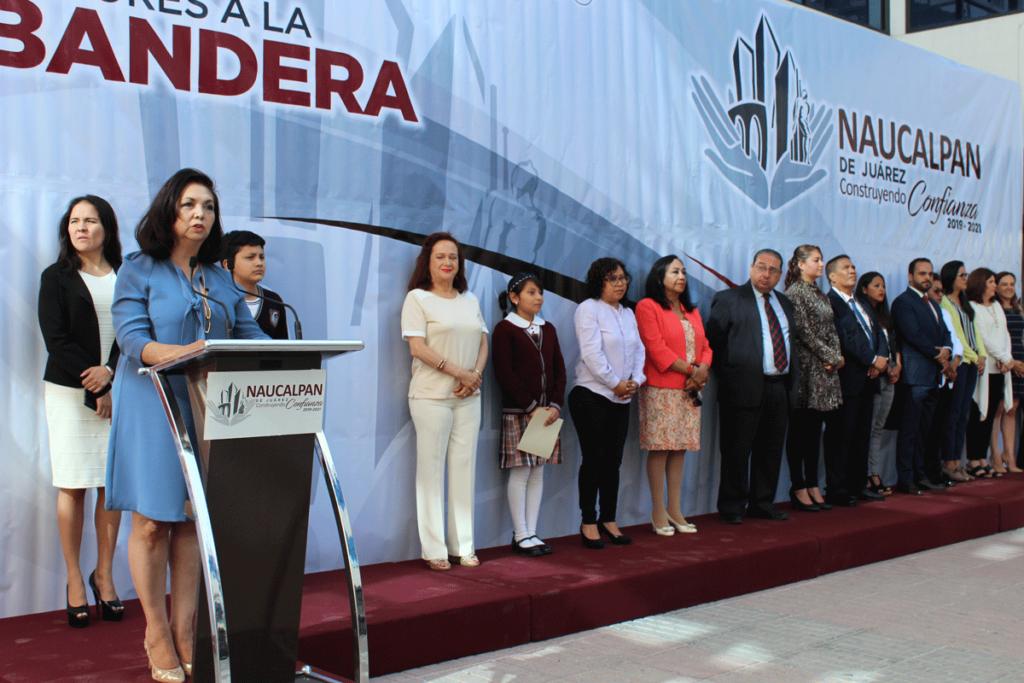 La secretaria de las Mujeres Naucalpenses, Adriana González Furlong anuncia actividades por el Día Internacional de la Mujer el 8 de marzo