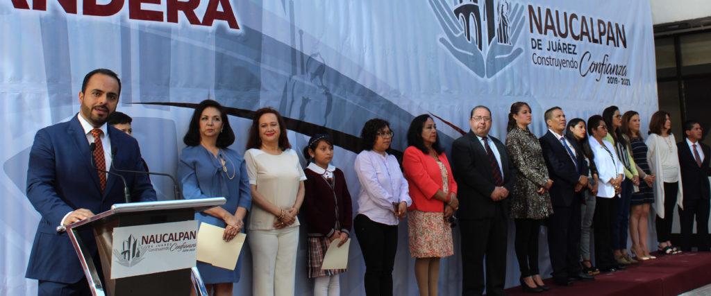 El regidor naucalpense Maximiliano Alexander habla de la fundación del Estado de México