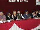 La alcaldesa de Atizapán, Ruth Olvera Nieto, se reúne con sus similares de Coacalco, Cuautitlán, Cuautitlán Izcalli, Teoloyucan y Nicolás Romero para solicitar justicia y pronta y expedita por la muerte del regidor Rodrigo Segura Guerrero