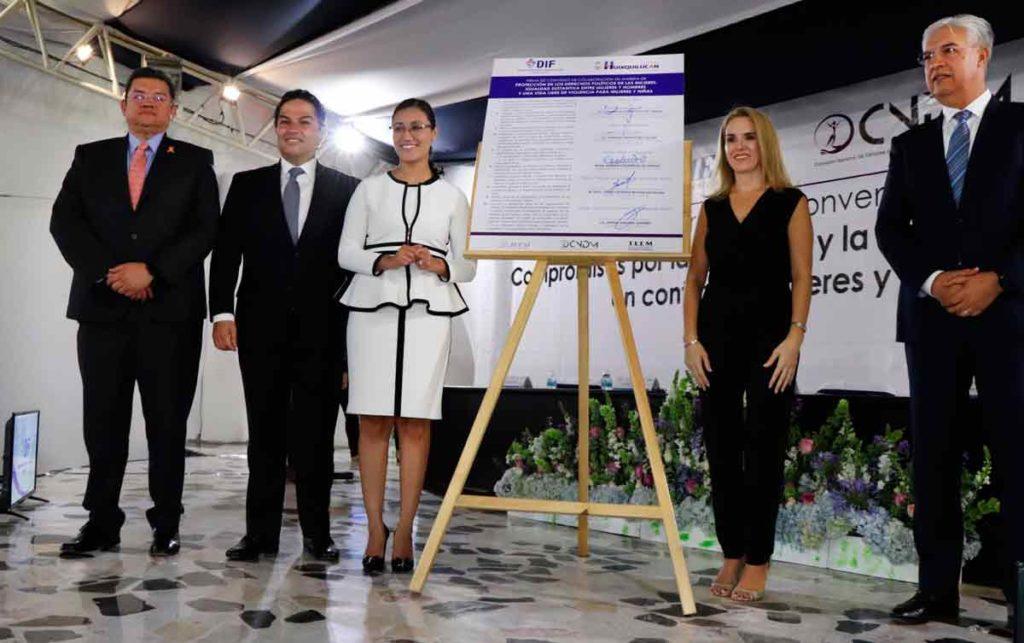 Pedro Zamudio Godínez , Enrique Vargas, Joanna Alejandra Felipe Torres, Romina Contreras de Vargas y Jorge Esteban Muciño Escalona