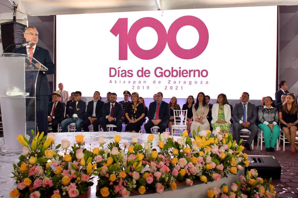 Pablo Basáñez, representa al gobierno del Estado de México en los 100 días del gobierno que encabeza Ruth Olvera Nieto