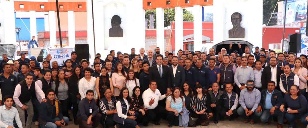 Un gran equipo el que conforma el Sistema de Agua de Huixquilucan