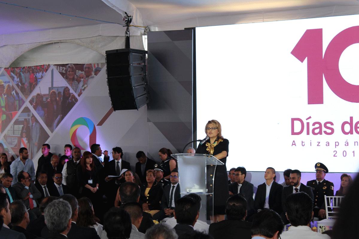 La alcaldesa Ruth Olvera Nieto manifiesta su disposición de coordinarse con la Guardia Nacional