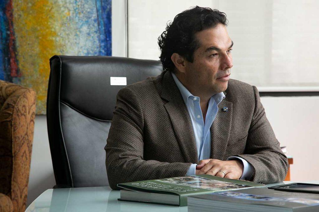Enrique Vargas del Villar, alcalde de Huixquilucan