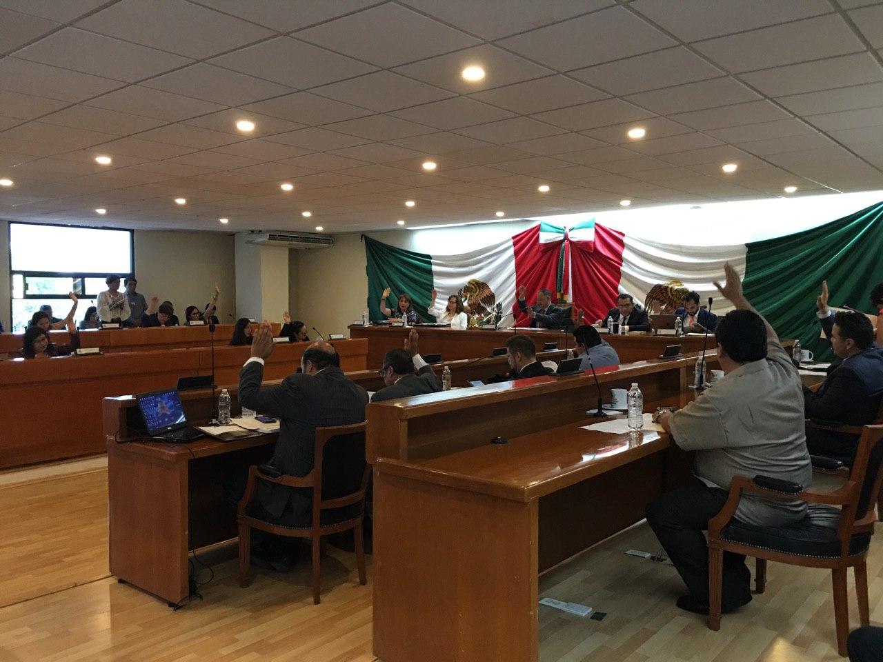 Participación de ediles panistas en la sesión de Cabildo de Naucalpan