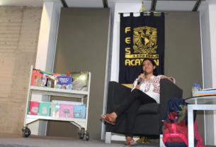 Adriana Kupijy Vargas Huitrón, estudiante de Pedagoría de la UNAM, creó una biblioteca en la Zona Mixe de Oaxaca y va por la segunda