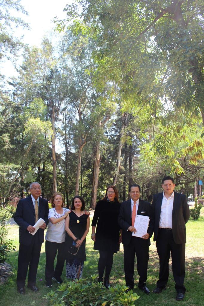 La belleza del parque del fraccionamiento Lomas de Bellavista y la dirigencia de la Asociación de Colonos