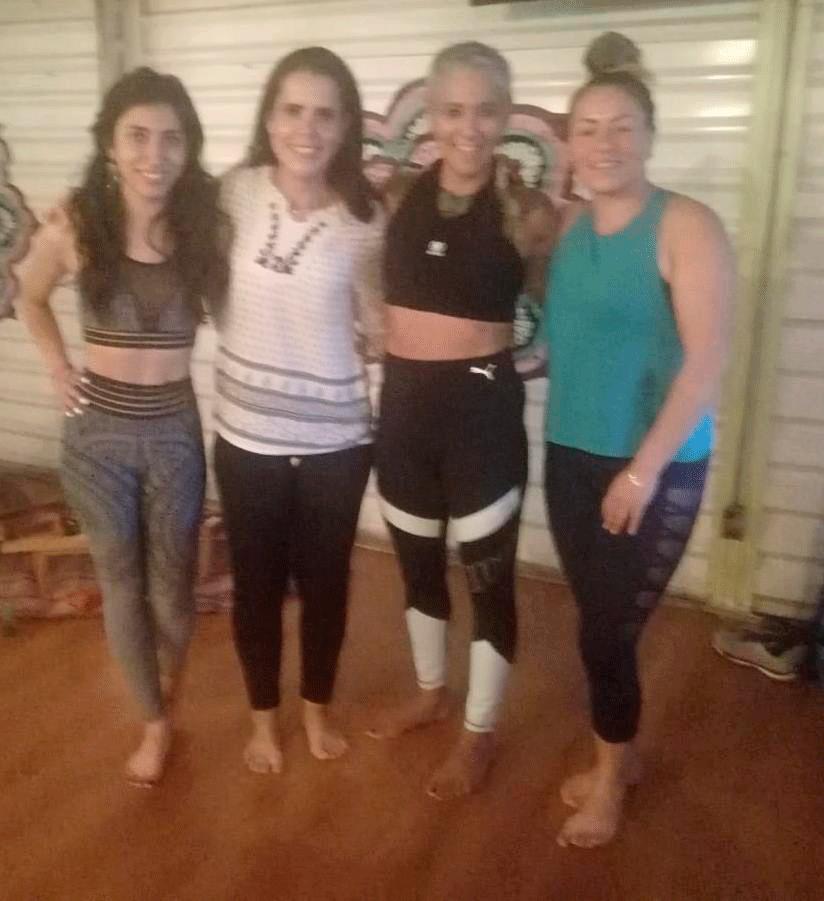 Andrea Gómez, Andrea de la Peña, Amparo Sánchez y Ana Betancurt