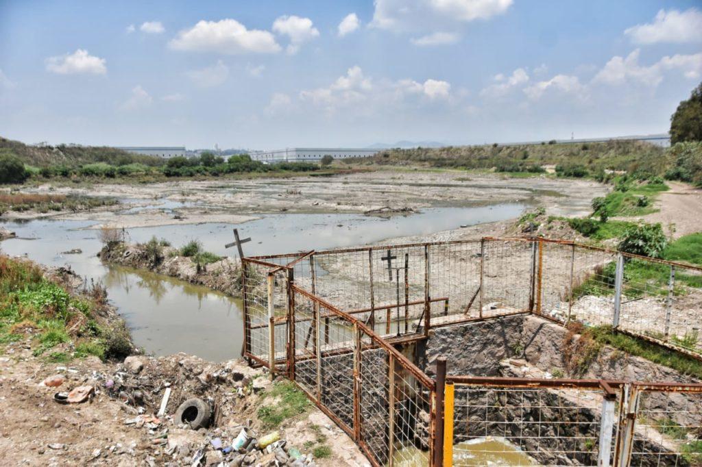 La presa el Ángulo, entre los puntos de riesgo de Cuautitlán Izcalli