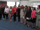 Funcionarias, dirigentes de agrupaciones de mujeres en Congreso de Empoderamiento en Naucalpan