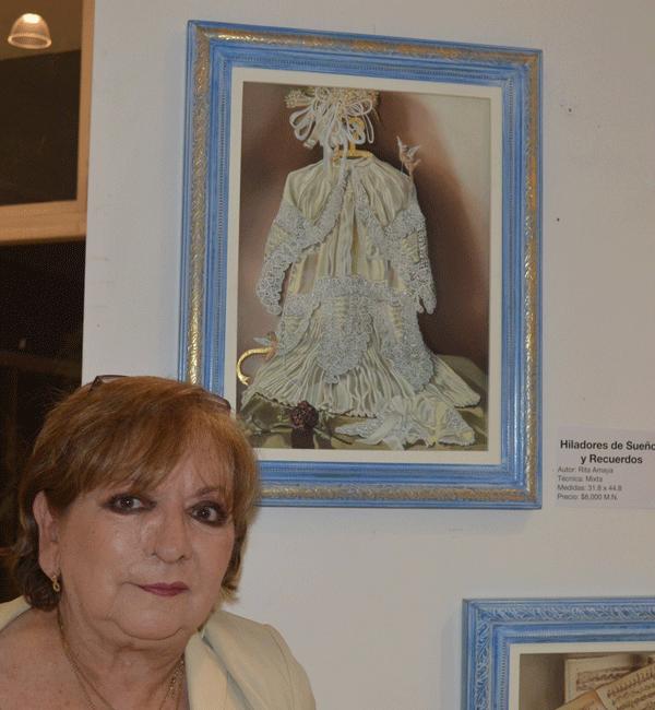 Rita Amaya, entre los espíritus divinos y lo que nos deja el mar