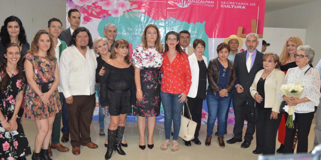 Mucho talento reunido en la exposición Satélite Hoy Ágora del Parque Naucalli