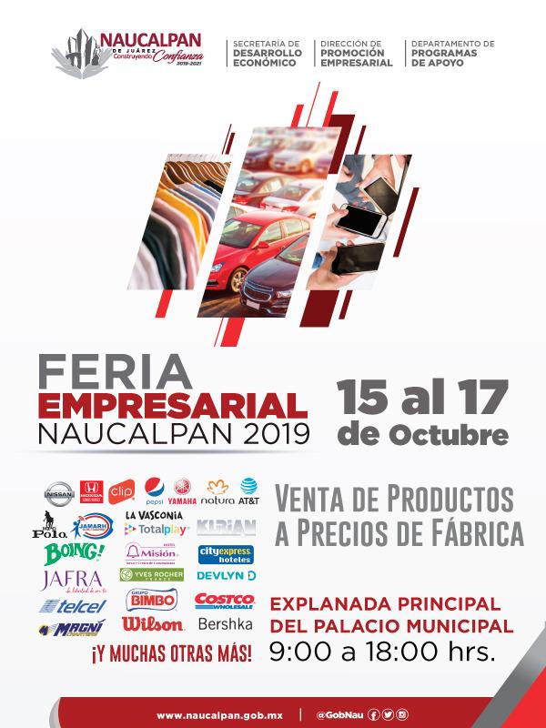 FERIA EMPRESARIAL NAUCALPAN 2019